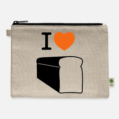 Bread I love bread! - Carry All Pouch