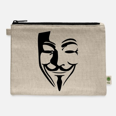 Guy Fawkes Guy Fawkes mask - Carry All Pouch