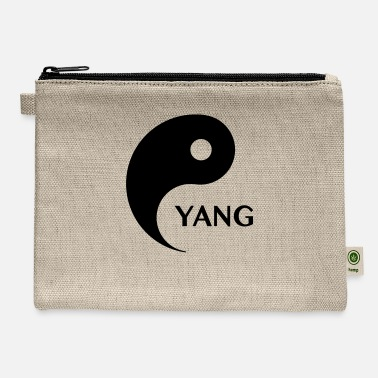 Couple Marriage Spiritual Yang looking for Yin, Part 2, tao, dualities - Carry All Pouch