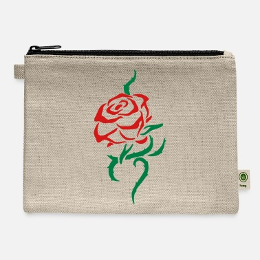Thorny Thorny Rose (custom colors) - Carry All Pouch