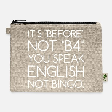 Language Language - Carry All Pouch