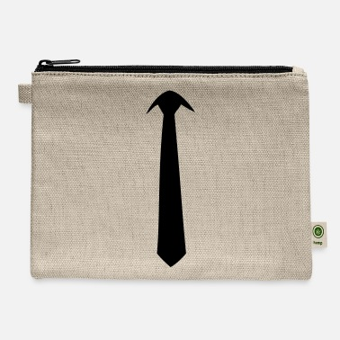 man´s tie - Carry All Pouch