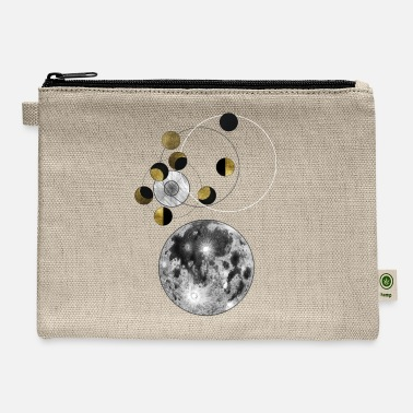 Moon Phases Phases of the Moon - Carry All Pouch