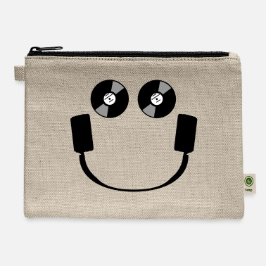 Smiley Headphones Smiley Headphones - Carry All Pouch