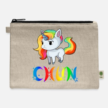 Chun Chun Unicorn - Carry All Pouch