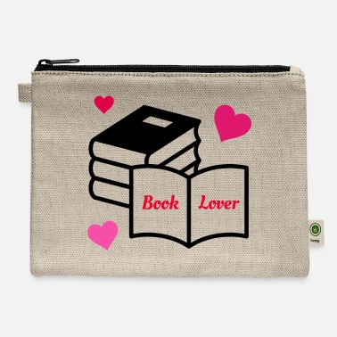 Book Lover - Carry All Pouch