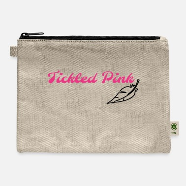 Tickled Pink - Carry All Pouch