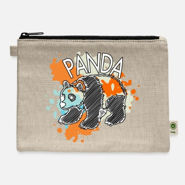 China Panda China Bear Bamboo Gift Bear Great - Carry All Pouch
