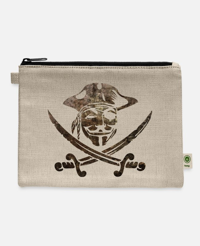 Anon Bags & Backpacks - Digital Pirates - Carry All Pouch natural