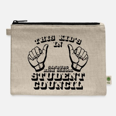 Kid S Humor THIS KID S IN SANBURG HIGH SCHOOL STUDENT COUNCIL - Carry All Pouch
