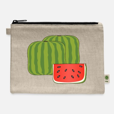 Moleskin Cubical watermelon - Carry All Pouch
