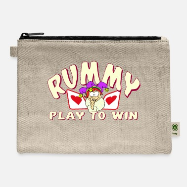 Rummy Rummy - Play to Win - Carry All Pouch