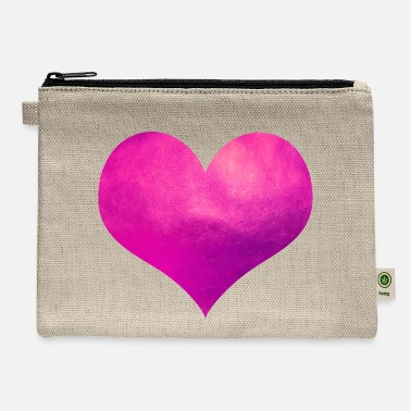 Pink Heart Pink Heart - Carry All Pouch