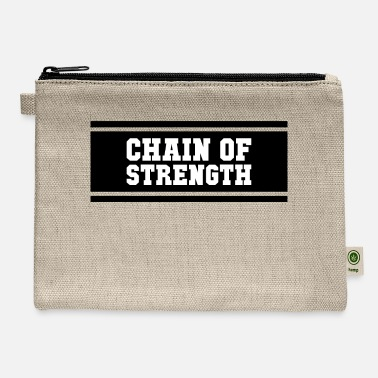 chain black - Carry All Pouch