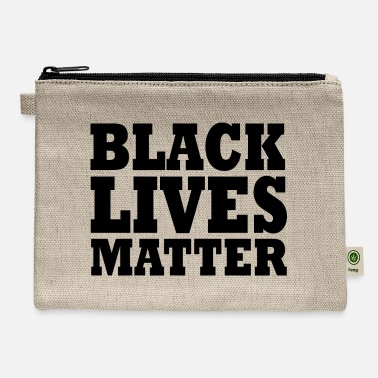 Black Black lives matter - Carry All Pouch
