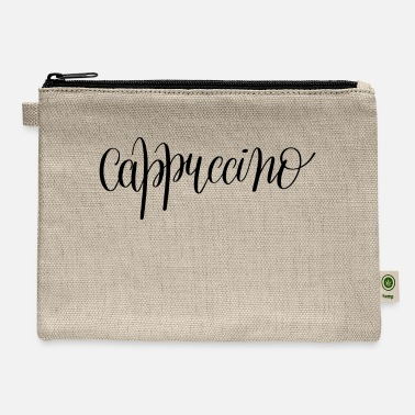 Cappuccino Cappuccino - Carry All Pouch