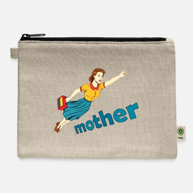mom is my super mom - Carry All Pouch