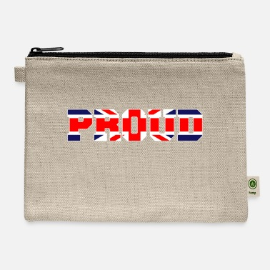 British Proud to be British - Carry All Pouch