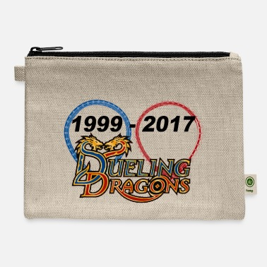 Duel dueling dragons - Carry All Pouch
