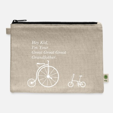 Bmx Grandfather GREAT GRANDFATHER OF BIKE W - Carry All Pouch