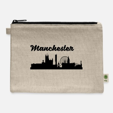 Manchester Manchester Skyline - Carry All Pouch