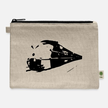Graffiti Train train in motion - Carry All Pouch