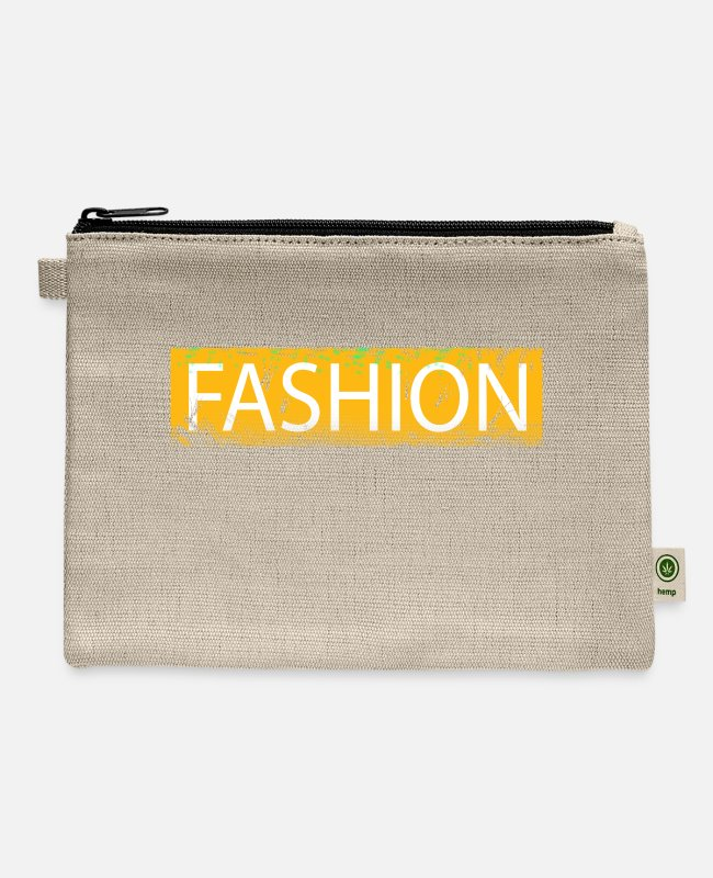 Kiss Me I'm Bags & Backpacks - Fashion - Carry All Pouch natural