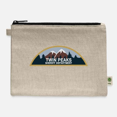 Twin peaks sheriff dep. - Carry All Pouch