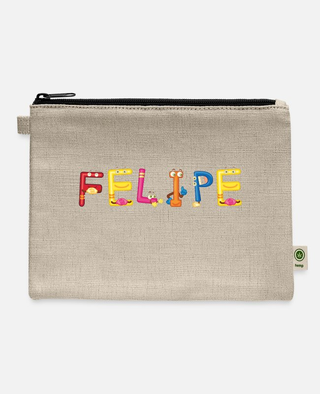 Felipe Present Bags & Backpacks - Felipe - Carry All Pouch natural
