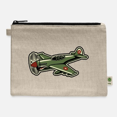 Propeller Propeller Airplane - Carry All Pouch