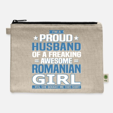 Romanian Romanian Husband - Carry All Pouch