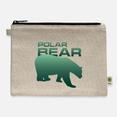 Animal Welfare Polar Bear Animal Welfare Wildlife Wilderness - Carry All Pouch