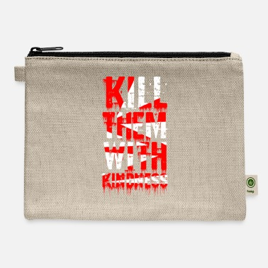 Fashion Typography Art Design - Carry All Pouch