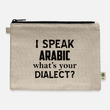 Dialect ARABIC dialect - Carry All Pouch