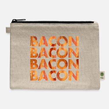 Bacon Bacon Bacon Bacon - Carry All Pouch