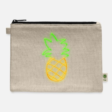 Pineapple Neon NEON PINEAPPLE - Carry All Pouch