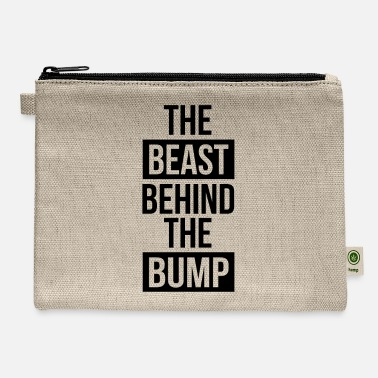 Announcement Pregnancy Announcement The Beast Behind the Bump - Carry All Pouch