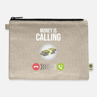 Startup Startup shirt - Money Is Calling Cash - Carry All Pouch
