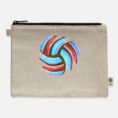 Beach Volleyball Volleyball Beach - Carry All Pouch