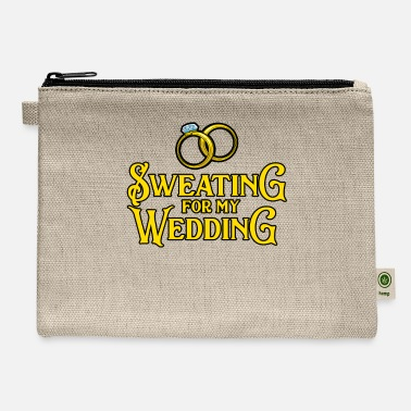 Sweating For My Wedding Gift Men Women Workout - Carry All Pouch