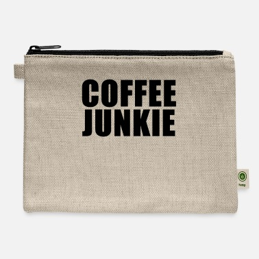 Oversleep Coffee junkie - Carry All Pouch