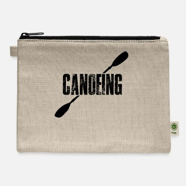 Canoe Canoeing Canoeing Canoeing Canoeing - Carry All Pouch