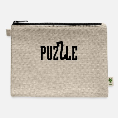 Puzzle Puzzle Puzzles - Carry All Pouch