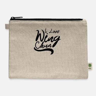 Wingtsun Fighter Martial Arts WingTsun Wing Chun Kung Fu - Carry All Pouch