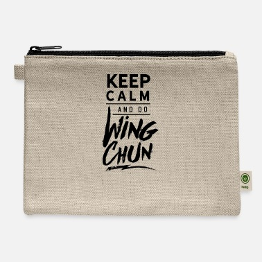 Wingtsun Wing Chun WingTsun Kung Fu Martial Arts Fighter - Carry All Pouch