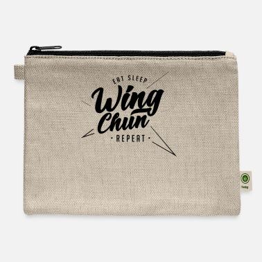 Wingtsun Martial Arts WingTsun Wing Chun Kung Fu Fighter - Carry All Pouch