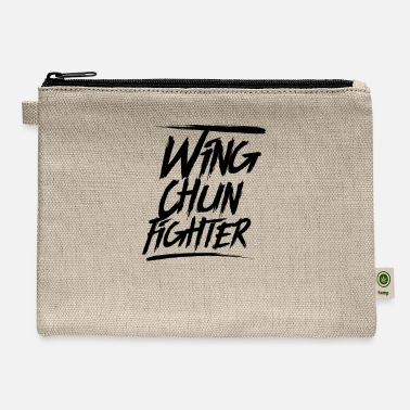 Wingtsun Martial Arts Wing Chun WingTsun Kung Fu Fighter - Carry All Pouch