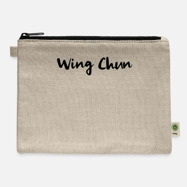 Wingtsun WingTsun Wing Chun Martial Arts Fighter Kung Fu - Carry All Pouch