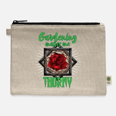 Thorny Rose Gardening Planting Thorny Flowers Gift - Carry All Pouch