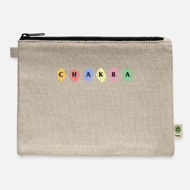 Life Energy Chakra Life Energy Crystals Sanskrit Spiritual - Carry All Pouch